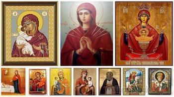 Самые известные иконы, их фото, описание и значение