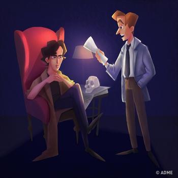 Шерлок раскрыл это дело за 2 минуты, а сколько потребуется вам?