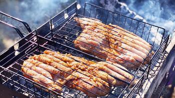 Цыпленок табака - Рецепт вкуснейшей жареной курицы