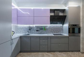 Глянцевый или матовый: как выбрать фасад для кухонного гарнитура