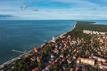 Зеленоградск — город-курорт на берегу Балтийского моря