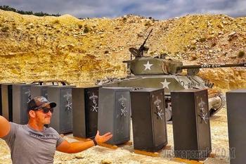 Сколько стальных сейфов пробьет танковый снаряд