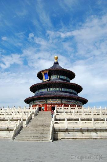 Китай 2018. 50. Пекин. Храм Неба