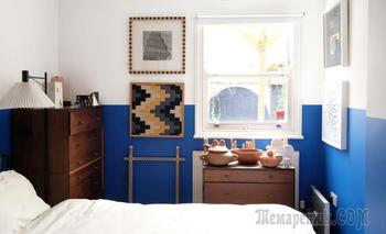 Делим пополам: 22 идеи для половинной окраски стен