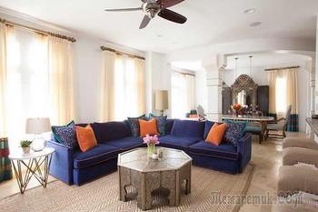 Марокканский стиль в интерьере особняка в Техасе