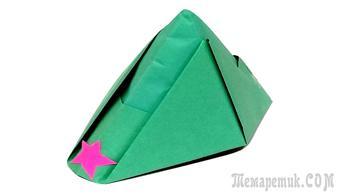 Как сделать пилотку из бумаги