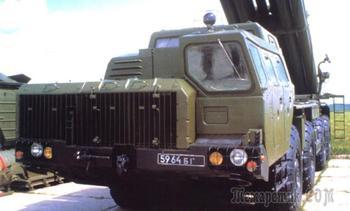Четырехосный МАЗ-543М: колеса комплекса С-300