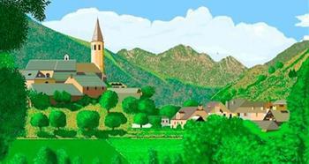 Иллюстрации природы 87-летней художницы, рисующей в Paint