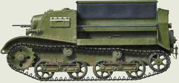 Т-20 «Комсомолец» - лёгкий бронированный артиллерийский тягач