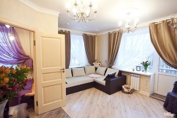 Квартира в хрущёвке со сложной планировкой в Петербурге