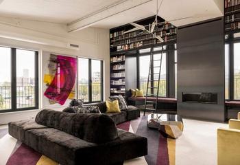 Современные лофт апартаменты в Монреале