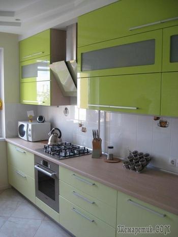 Кухня цвета гармонии, оптимизма и комфорта