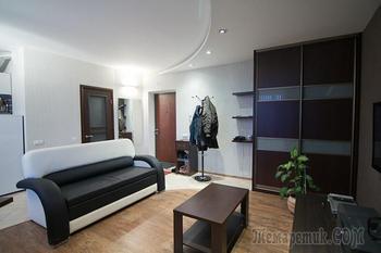 Превращение однокомнатной квартиры в холостяцкую студию
