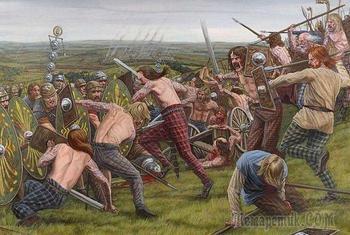 Факты о пиктах - древнем шотландском племени, которого боялись даже в Римской империи