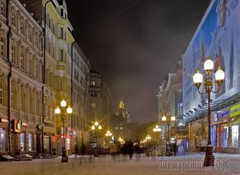 Моя Москва...Зимняя...Фотоработы Ирины З.