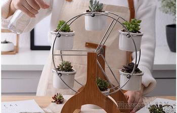 Креативные подставки для растений, которые станут изюминкой в интерьере