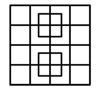 Многие пытались сосчитать квадраты на этой картинке, но правильный ответ нашли лишь некоторые