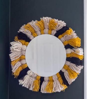 Дизайнерская вещь из старого зеркала