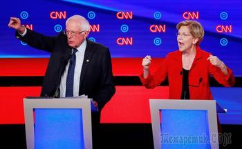 «Делает Россию великой»: как прошли дебаты демократов США