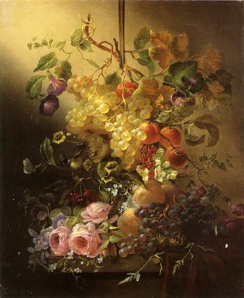 Жан-Батист Клод Роби (фр. Jean Baptiste Claude Robiе). Натюрморты