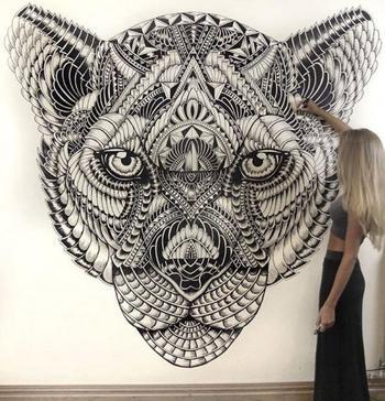 Удивительные портреты животных от Фей Халлидей
