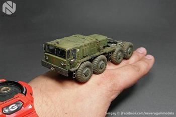 Миниатюрные модели гражданской и военной техники от Сергея Осипова