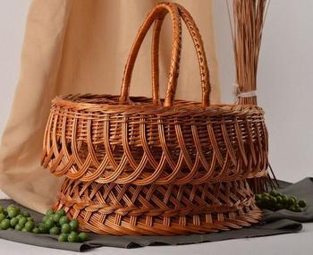 Плетение из лозы - пошаговая инструкция для начинающих