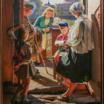 «Память поколений»: картины о Великой Отечественной войне