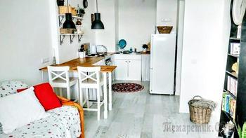 Однушка 44 м² для матери с сыном в Минске