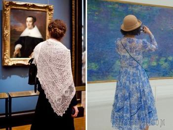 В гармонии с шедеврами: посетители музеев, «совпадающие» с классическими картинами