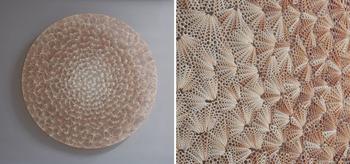 Ювелирная работа: британский художник создает потрясающие скульптуры из тысяч ракушек