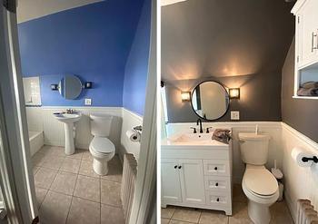 Люди, которые отремонтировали свою ванную так, что дизайнеры обзавидовались