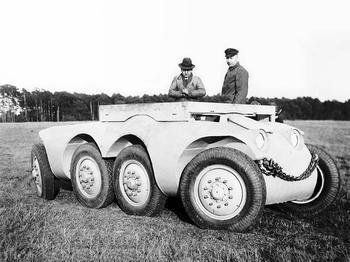 Бронеавтомобиль Daimler-Benz DB-ARW (Германия)