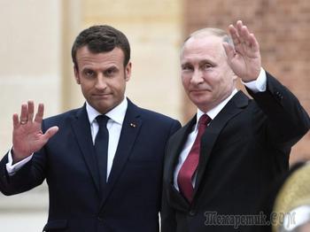 «Привет, Владимир»: как прошла встреча Путина и Макрона