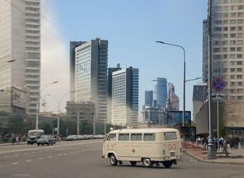 Москва из советских кинофильмов тогда и сейчас