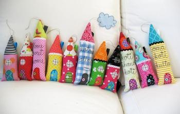 Поделки для дома из ткани: шьем своими руками игрушки и украшения