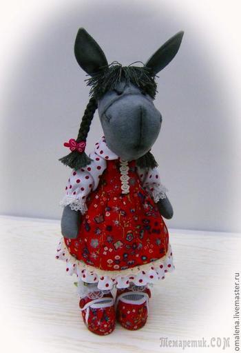 Как сшить платье для игрушки