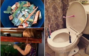 17 жизненных фотографий об истинных «радостях», которые уготованы всем родителям