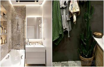 10 хитрых приемов по обустройству маленькой ванны, подсмотренные у профессионалов