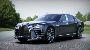 ЗИС-110 NG. Крутейший автомобиль, который может стать лицом отечественного автопрома!