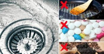 12 вещей, которые ни в коем случае нельзя смывать в канализацию