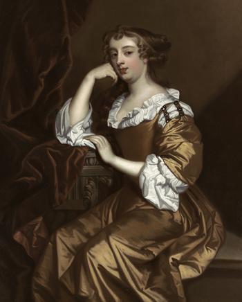 Английский художник Сэр Питер Лели (1618-1680)