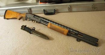 Легендарное помповое ружье Mossberg 500, звезда Голливуда