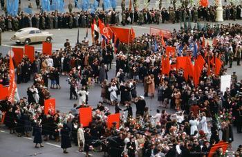 СССР 1952-1954 годов на фотографиях американского шпиона