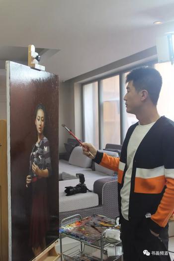 Корейская живопись.  Чан Вонгиль - Jang Won Gil (장원길, 张元吉, 張元吉). КНДР
