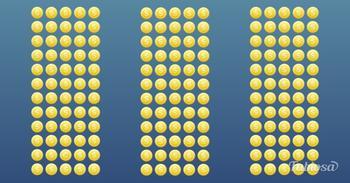 Как быстро вы найдете лишнюю монету?