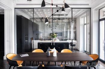 Интерьер в духе парижских апартаментов в Киеве