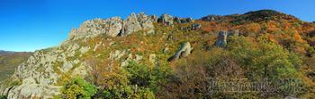 Осеннее золото Демерджи. 1. Долина Привидений
