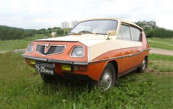Уникальный самодельный автомобиль «Фантазия» из Минска