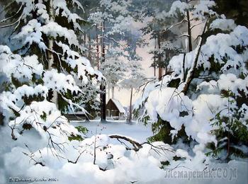 Снег летит по всей России... Картины, стихи, фотографии, музыка